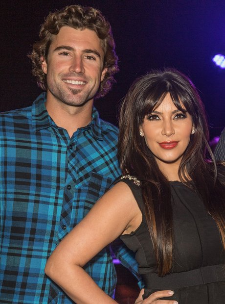 Brody Jenner and Kim Kardashian