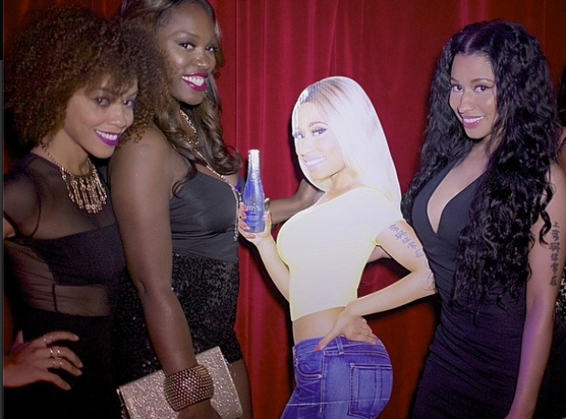 Nicki Minaj and friends BET Awards