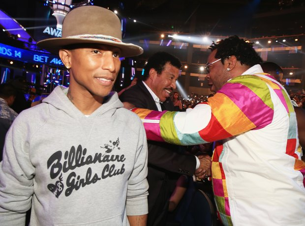 Pharrell Williams, Lionel Richie and Busta Rhymes