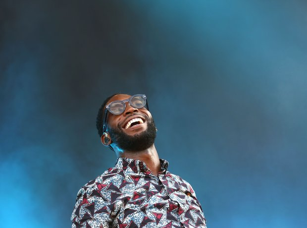 Tinie Tempah at Wireless Festival 2014