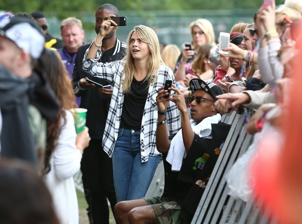 Cara Delevingne Wireless Festival 2014 London