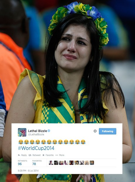 Lethal Bizzle reacts to World Cup