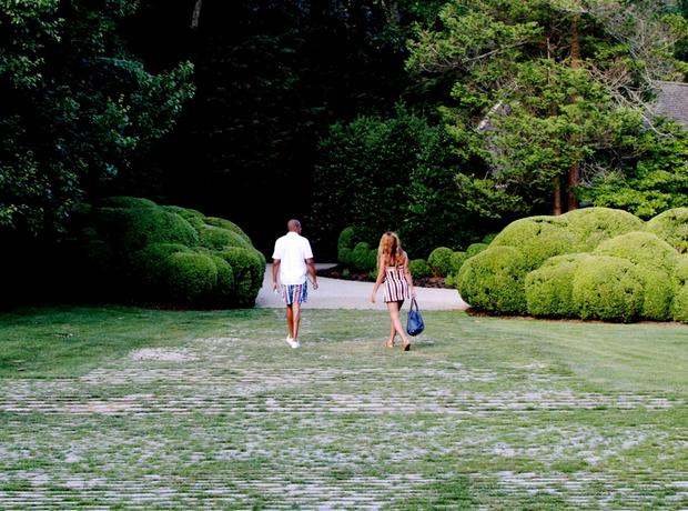 Beyonce Jay Z garden