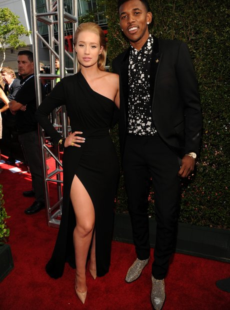 Iggy Azalea and Nick Young