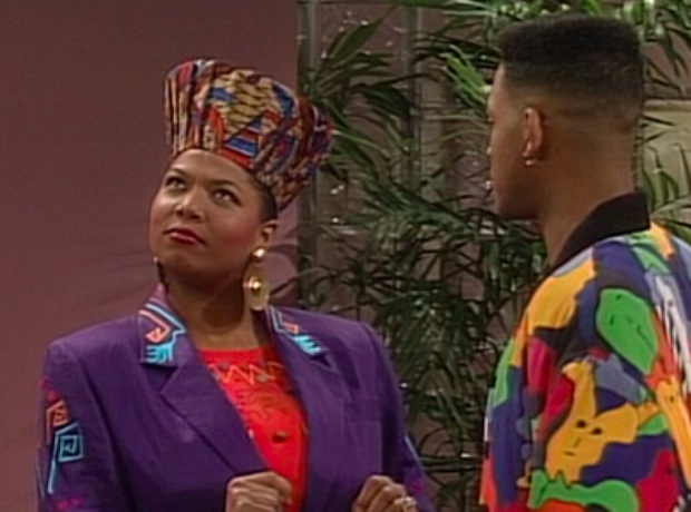 Queen Latifah Will Smith Fresh Prince