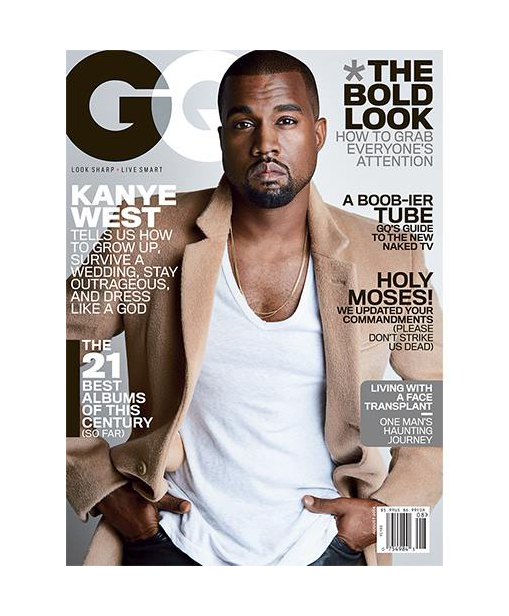 Kanye West GQ Cover 2014