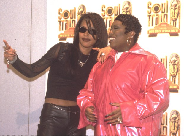 Aaliyah and Missy Elliott