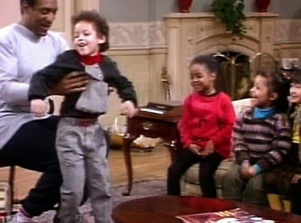 Alicia Keys Cosby Show (4 years old)