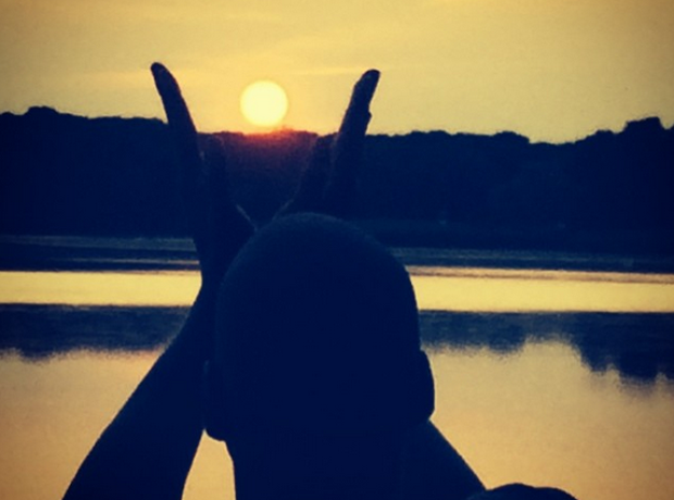 Jay Z sunset