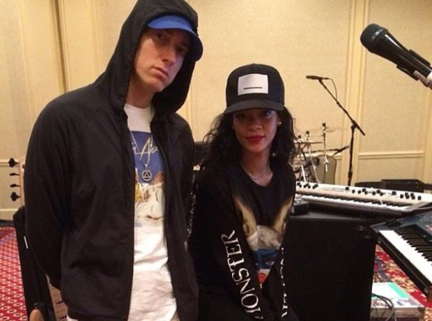Rihanna and Eminem