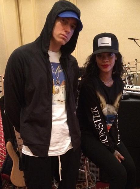 Rihanna Eminem Monster Tour Rehearsal