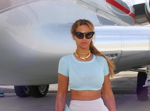 Beyoncé airplane