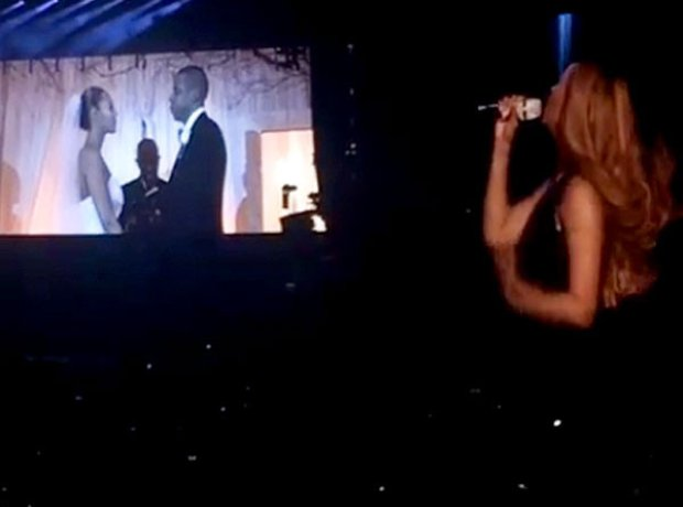 Beyonce Jay Z  Wedding Footage