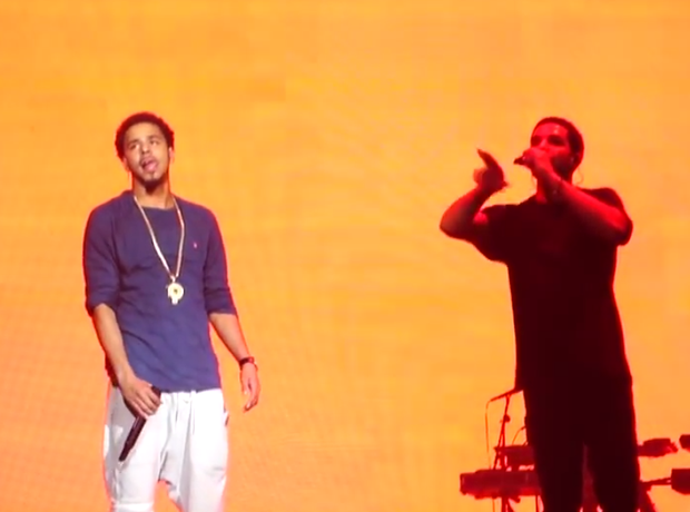Drake and J Cole OVO Fest 2014