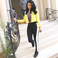 Image 6: Nicki Minaj yellow jacket