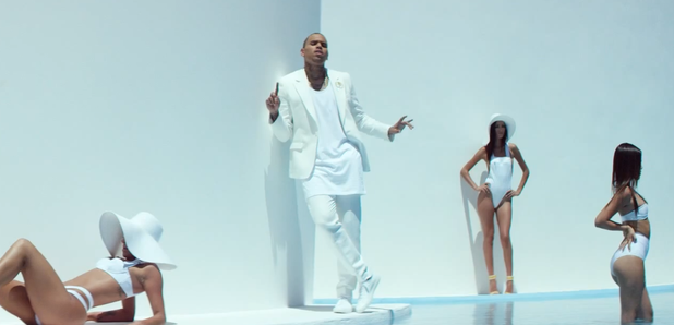 "Watch chris brown's new video for ""new flame"" featuring usher."