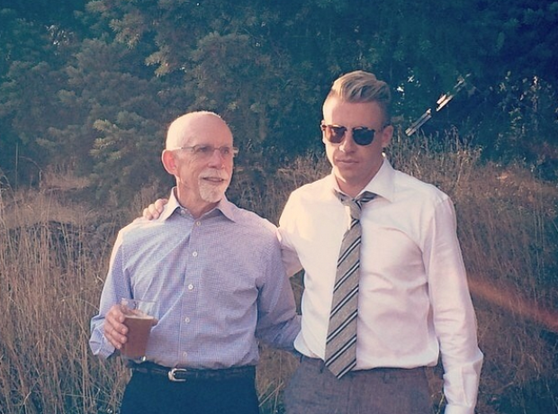 Macklemore and his dad