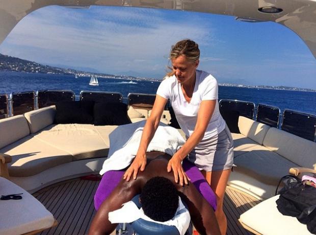 Tinie Tempah Massage holiday