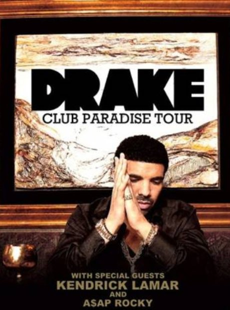 Drake S Club Paradise Tour Approx 43 3 Million Gross