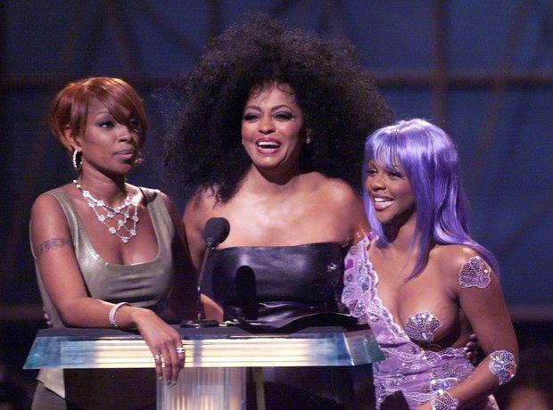 Lil Kim Diana Ross 1998 VMAs