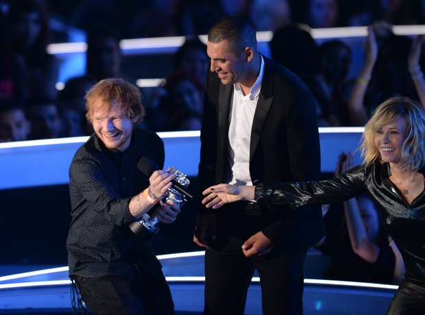 Ed Sheeran wins Best Male Video at MTV VMA 2014
