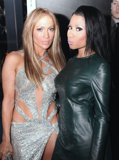 J Lo and Nicki Minaj VMA's 2014