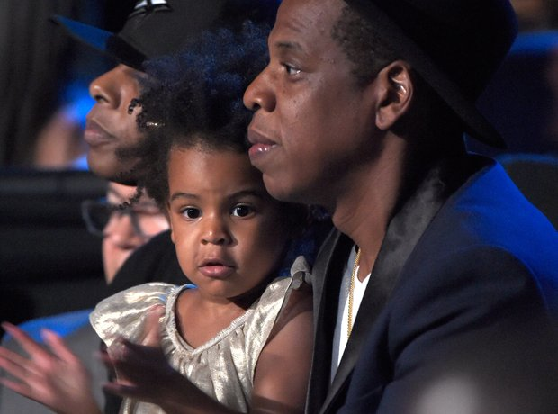 Jay Z and Blue Ivy at the VMAs 2014