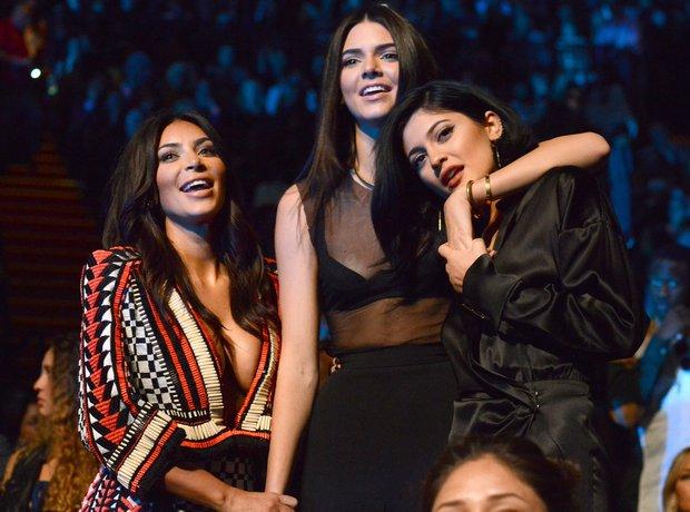 Kim Kardashian, Kendall Jenner and Kylie Jenner