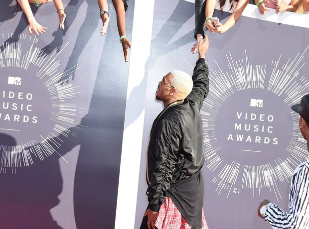 MTV Video Music Award red carpet