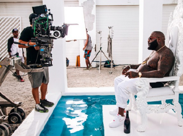 Rick Ross New Flame Video