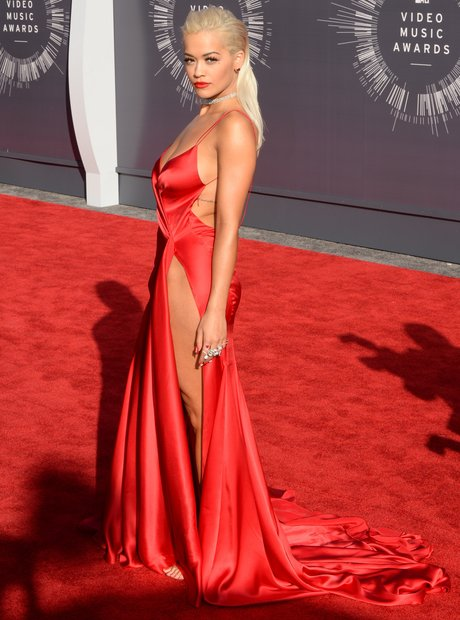 Rita Ora MTV VMAs 2014 Red Carpet