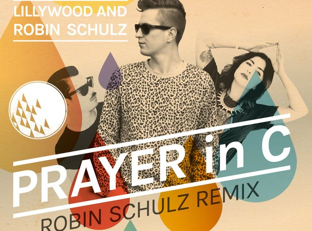 Robin Schulz Lillywood Cover Art