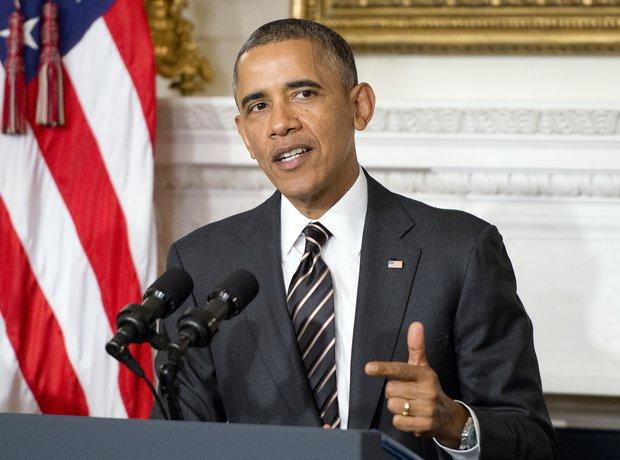 Barrack Obama & Air Force One