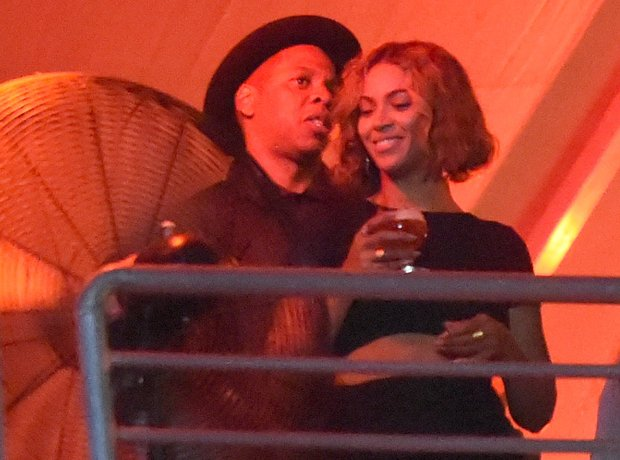 Jay Z and Beyonce at the Budweiser Made In America