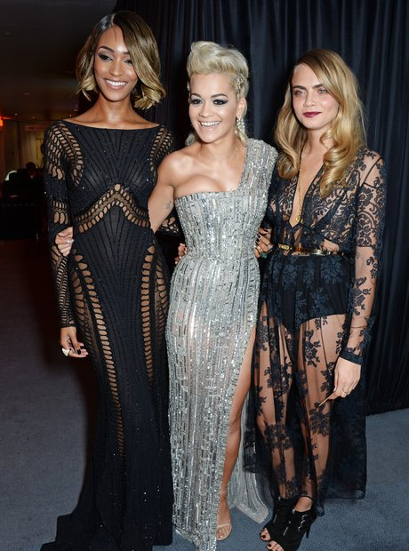Jourdan Dunn, Rita Ora and Cara Delevingne