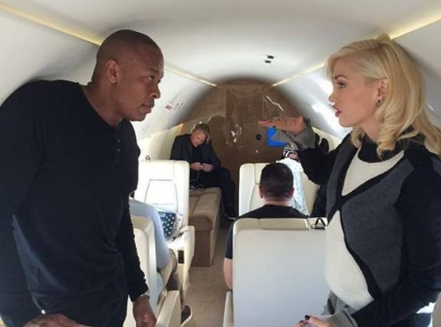 Dr Dre and Gwen Stefani