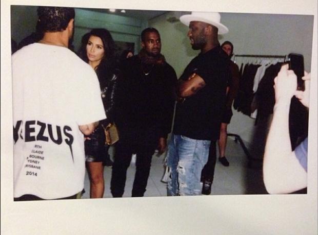 Kim Kardashian Kanye West Instagram