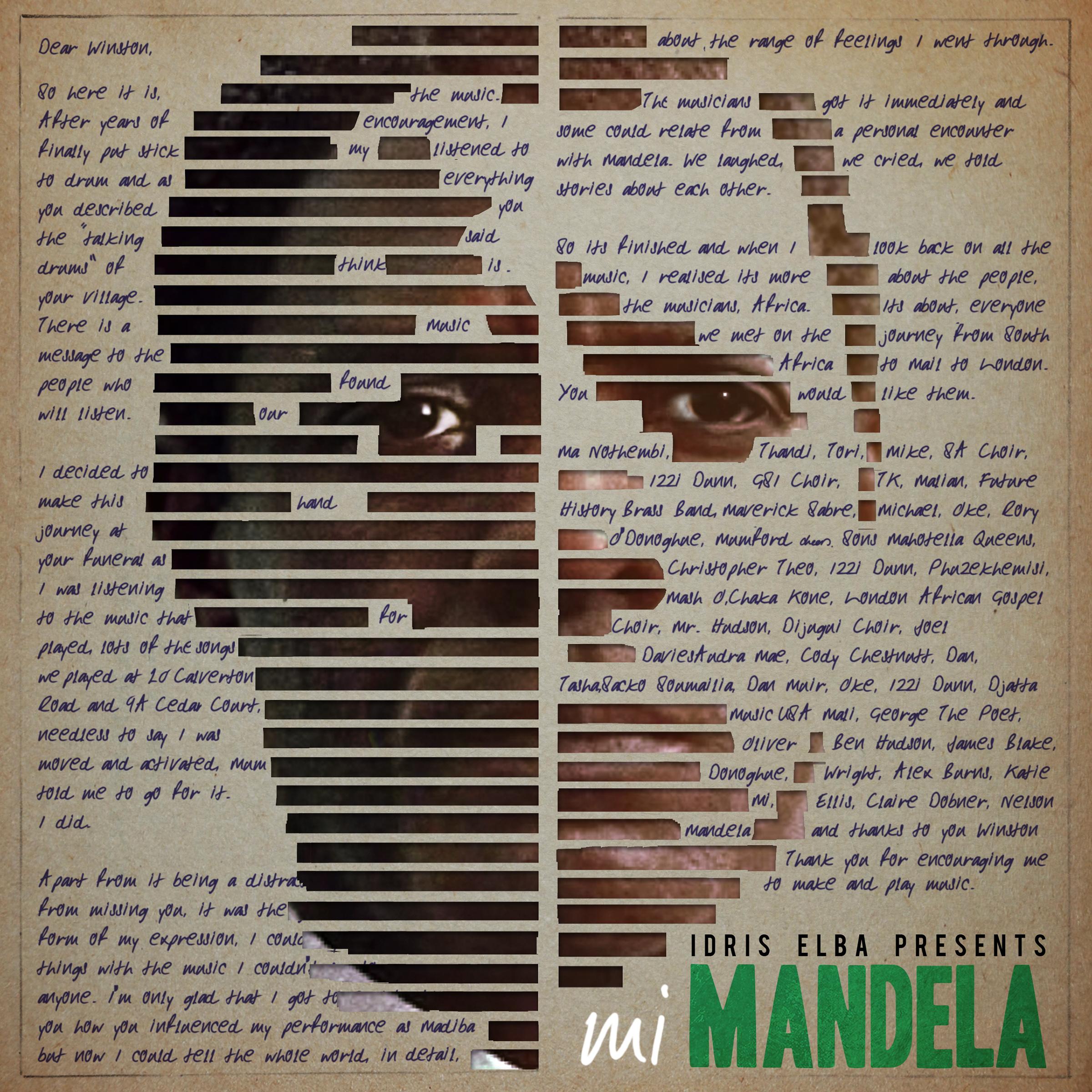Idris Elba Mi Mandela Artwork
