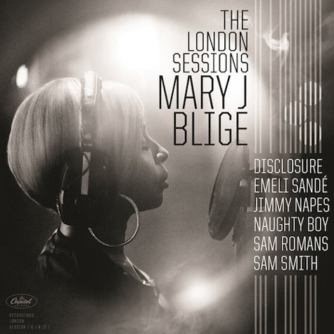 Mary J Blige The London Sessions artwork