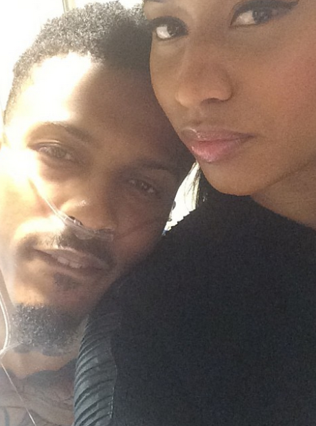 Nicki Minaj August Alsina hospital
