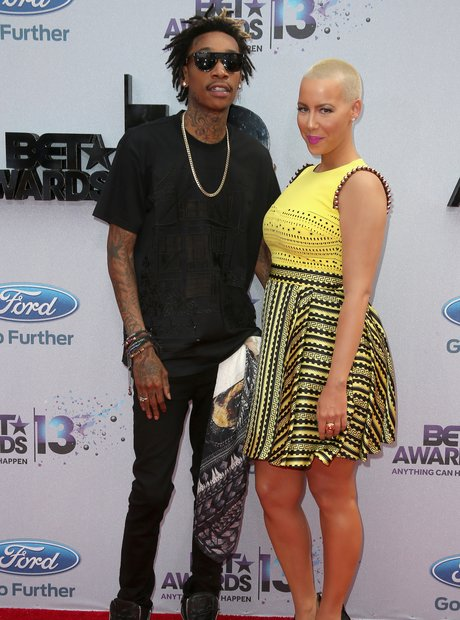 Wiz Khalida Amber Rose black and yellow