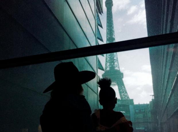 Beyonce Blue Ivy Paris