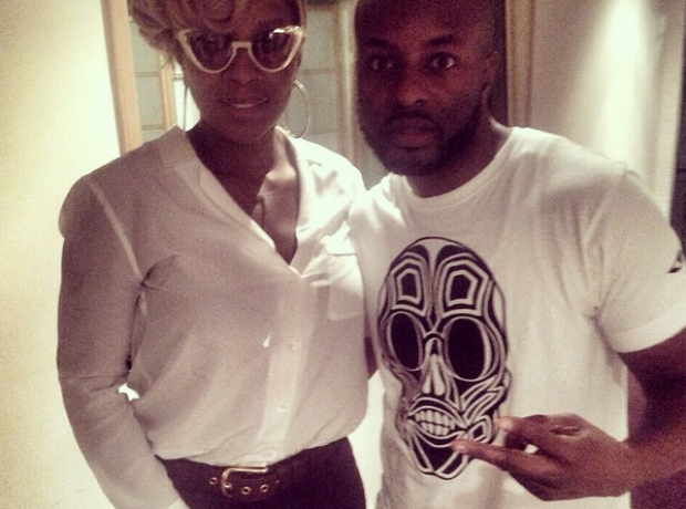 Manny and Mary J Blige
