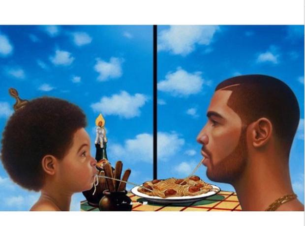 Drake making fun of himself