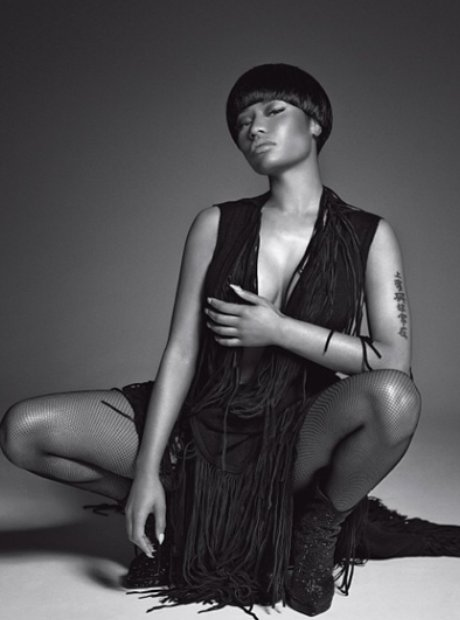 Nicki Minaj L'uomo Vogue