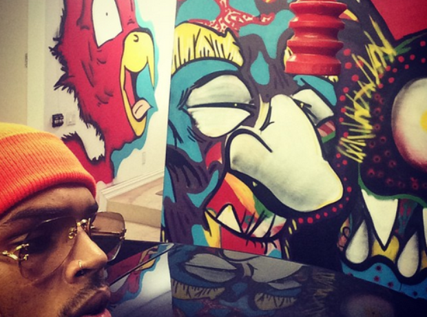 Chris Brown Art
