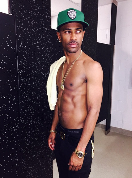 Big Sean topless