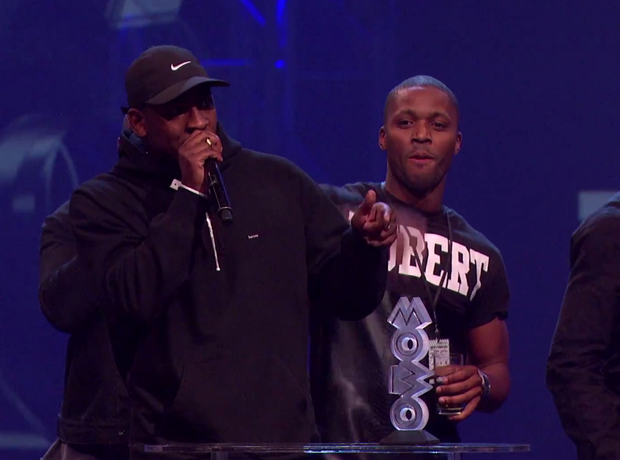 Skepta and JME Mobo 2014