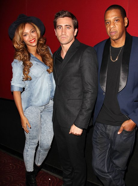 beyonce Knowles, Jake Gyllenhaal and Jay Z