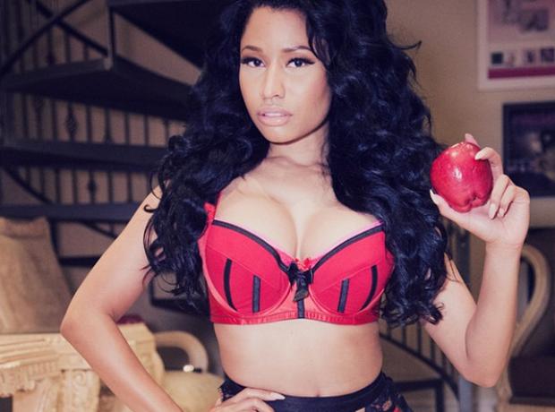 Nicki Minaj apple